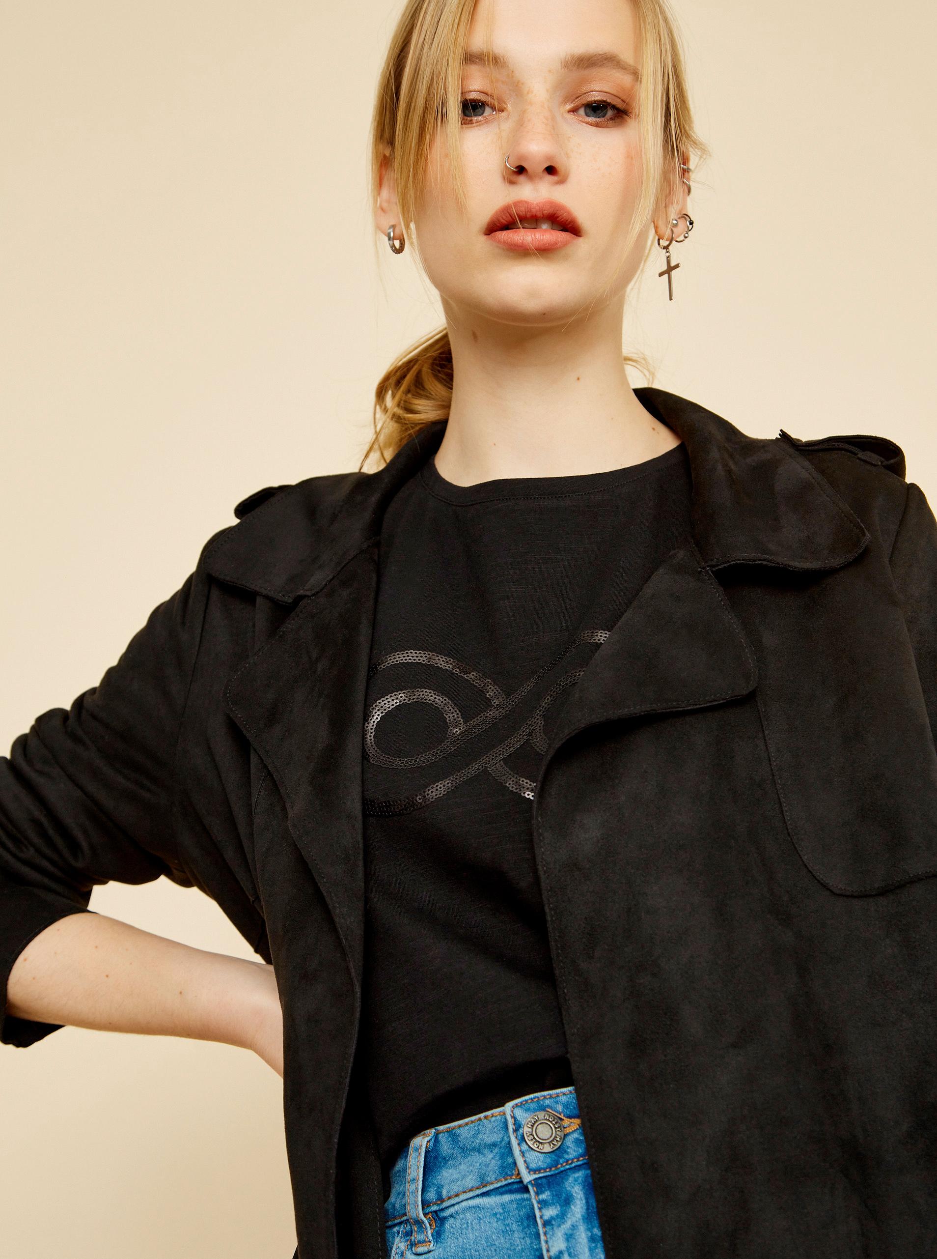 ZOOT nero da donna maglietta Lucy