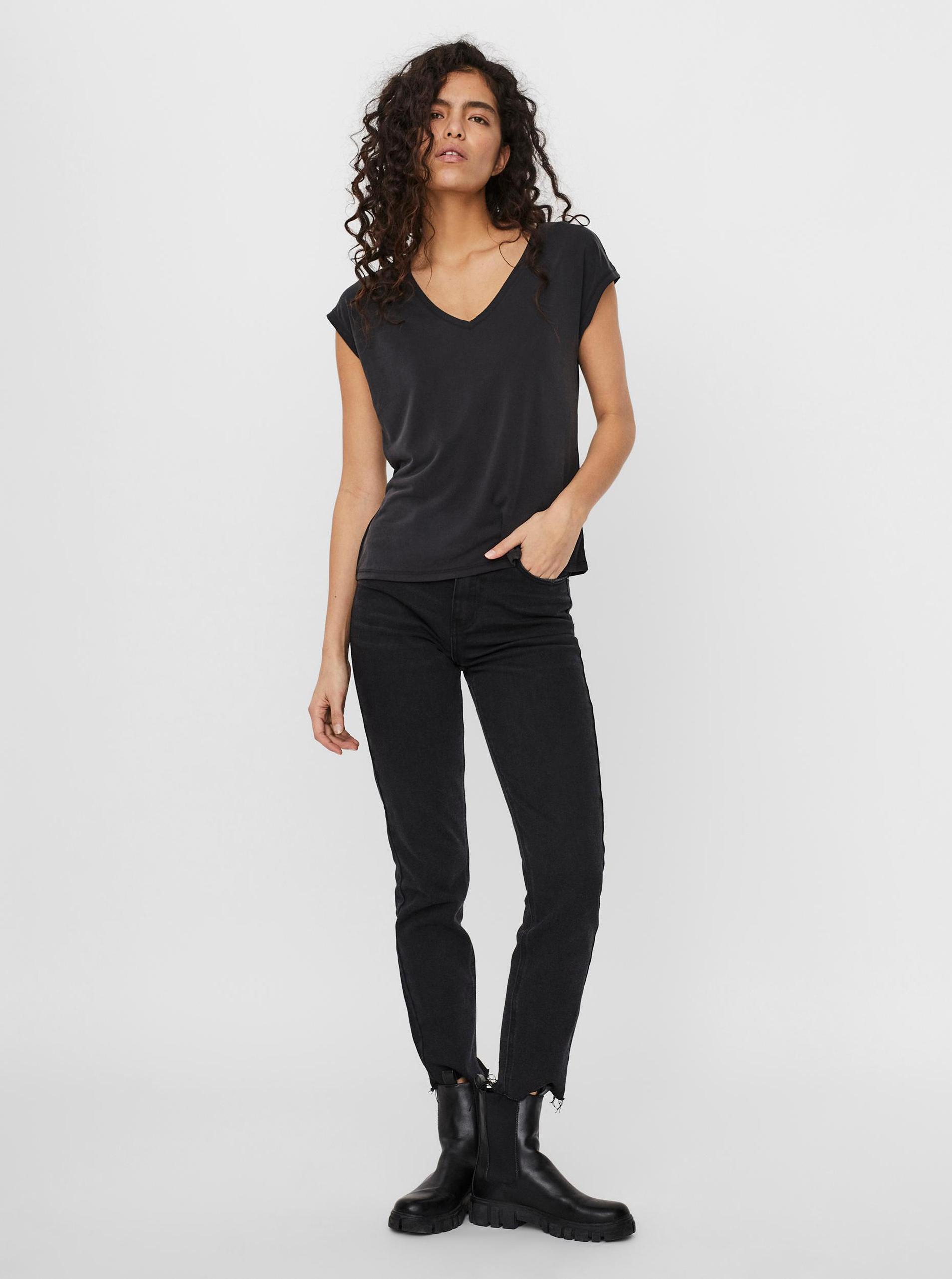 Vero Moda nero maglietta Filli