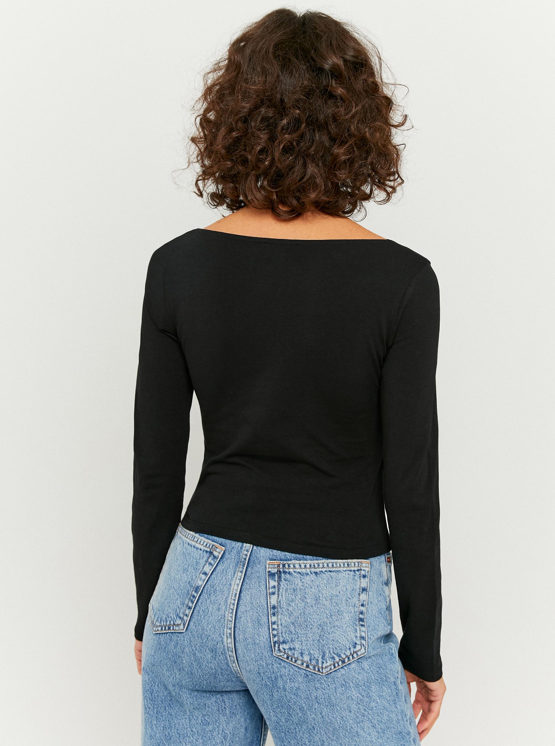 Tally Weijl nero da donna maglietta