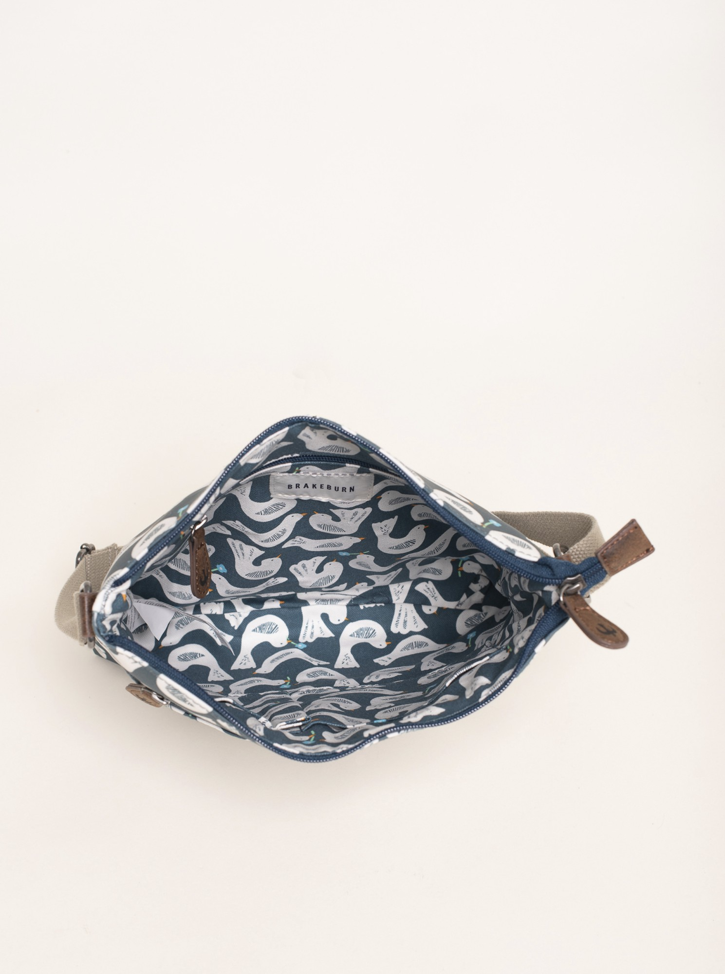 Brakeburn blu borsetta se vzorem