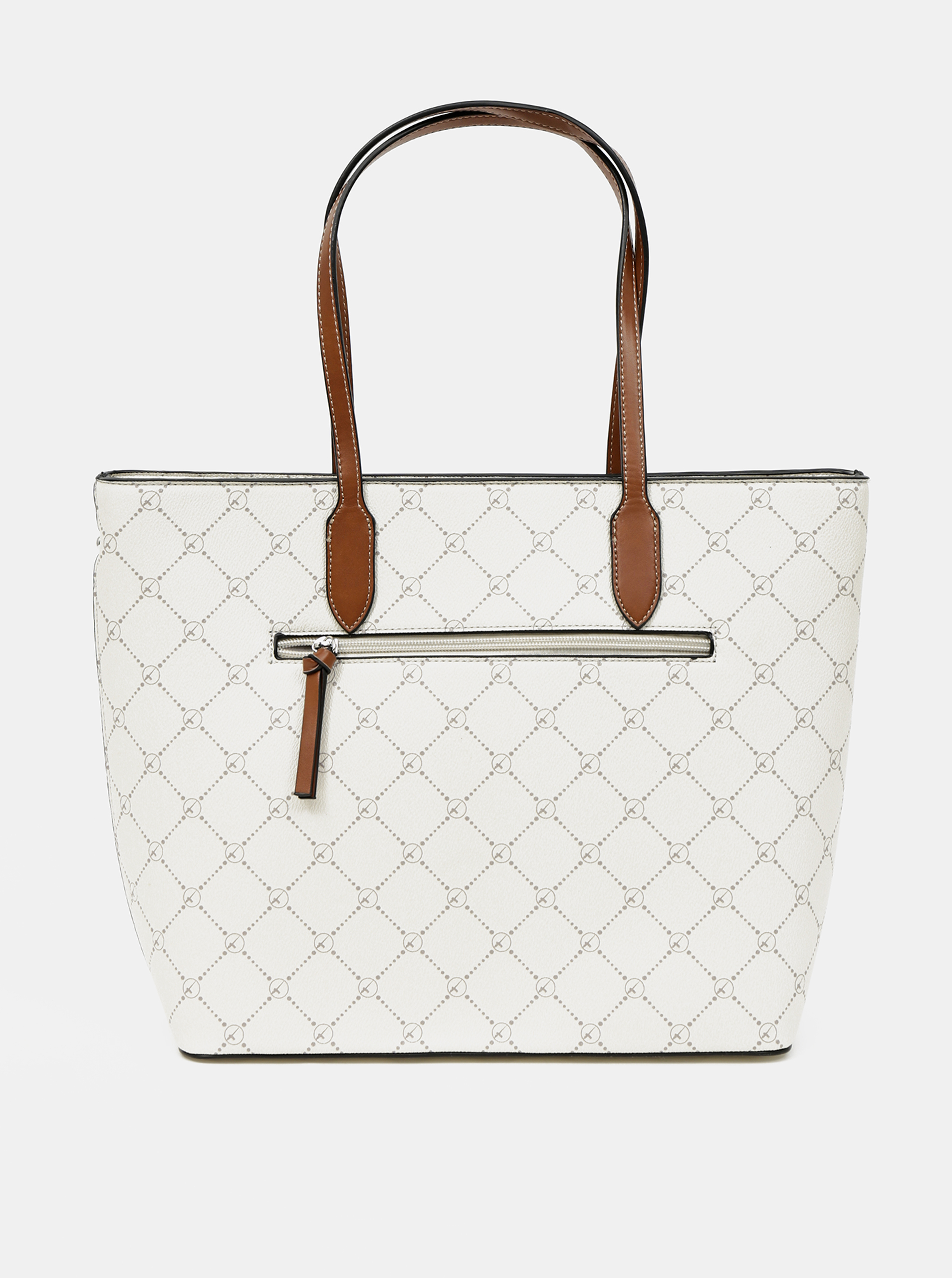 Tamaris bianco borsa shopper