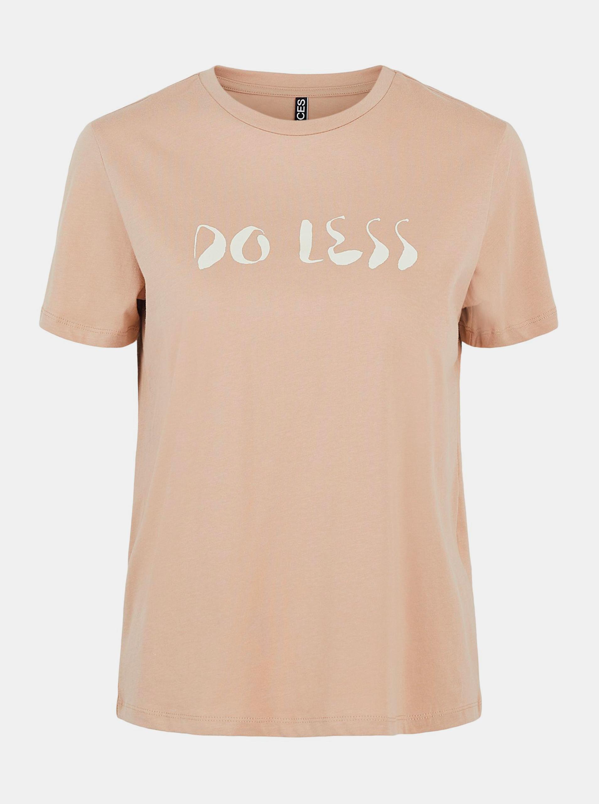 Pieces marrone da donna maglietta Liwy